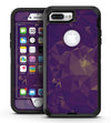 Abstract Purple and Gold Geometric Shapes - iPhone 7 Plus/8 Plus OtterBox Case & Skin Kits