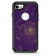 Abstract Purple and Gold Geometric Shapes - iPhone 7 or 8 OtterBox Case & Skin Kits