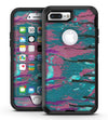 Abstract Retro Pink Wet Paint - iPhone 7 Plus/8 Plus OtterBox Case & Skin Kits
