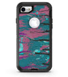 Abstract Retro Pink Wet Paint - iPhone 7 or 8 OtterBox Case & Skin Kits