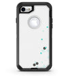 Abstract Scattered Teal Dots - iPhone 7 or 8 OtterBox Case & Skin Kits