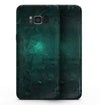 Abstract Teal Geometric Shapes - Samsung Galaxy S8 Full-Body Skin Kit
