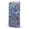 Abstract Wet Paint Blues iPhone 6/6s or 6/6s Plus 2-Piece Hybrid INK-Fuzed Case