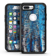 Abstract Wet Paint Blues v8 - iPhone 7 Plus/8 Plus OtterBox Case & Skin Kits