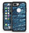 Abstract Wet Paint Blues v972 - iPhone 7 Plus/8 Plus OtterBox Case & Skin Kits