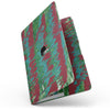 MacBook Pro without Touch Bar Skin Kit - Abstract_Wet_Paint_Mint_Green_to_Red-MacBook_13_Touch_V9.jpg?