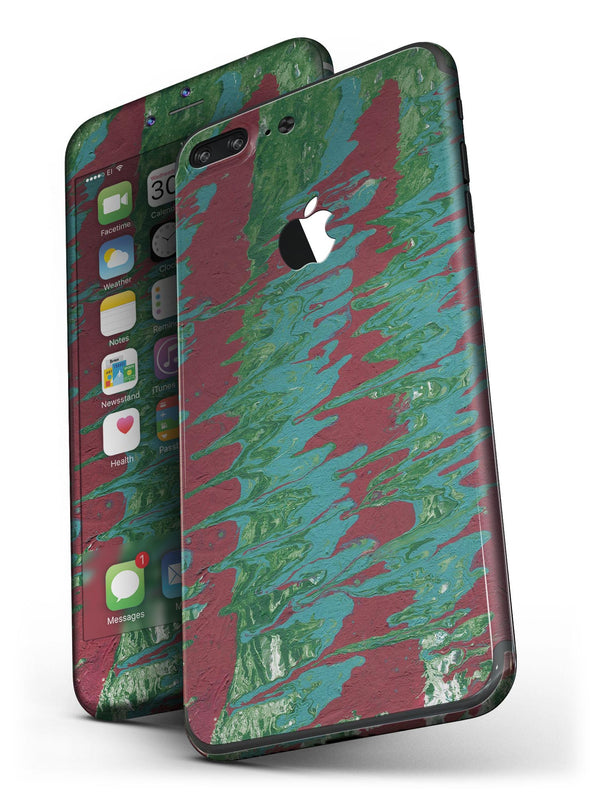 Abstract_Wet_Paint_Mint_Green_to_Red_-_iPhone_7_Plus_-_FullBody_4PC_v4.jpg