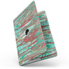 MacBook Pro without Touch Bar Skin Kit - Abstract_Wet_Paint_Mint_Rustic-MacBook_13_Touch_V9.jpg?
