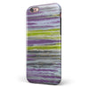 Abstract Wet Paint Purple Sag iPhone 6/6s or 6/6s Plus 2-Piece Hybrid INK-Fuzed Case
