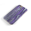 Abstract Wet Paint Purple v3 iPhone 6/6s or 6/6s Plus 2-Piece Hybrid INK-Fuzed Case