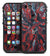 Abstract Wet Paint Red v95 - iPhone 7 LifeProof Fre Case Skin Kit