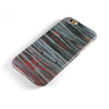 Abstract Wet Paint Smoke Red iPhone 6/6s or 6/6s Plus 2-Piece Hybrid INK-Fuzed Case