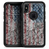 Aged and Wrinkled American Flag - Skin Kit for the iPhone OtterBox Cases