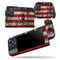 American Distressed Flag Panel - Skin Wrap Decal for Nintendo Switch Lite Console & Dock - 3DS XL - 2DS - Pro - DSi - Wii - Joy-Con Gaming Controller