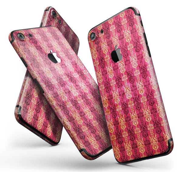 Antique_Pink_and_Yellow_Damask_Pattern_-_iPhone_7_-_FullBody_4PC_v11.jpg