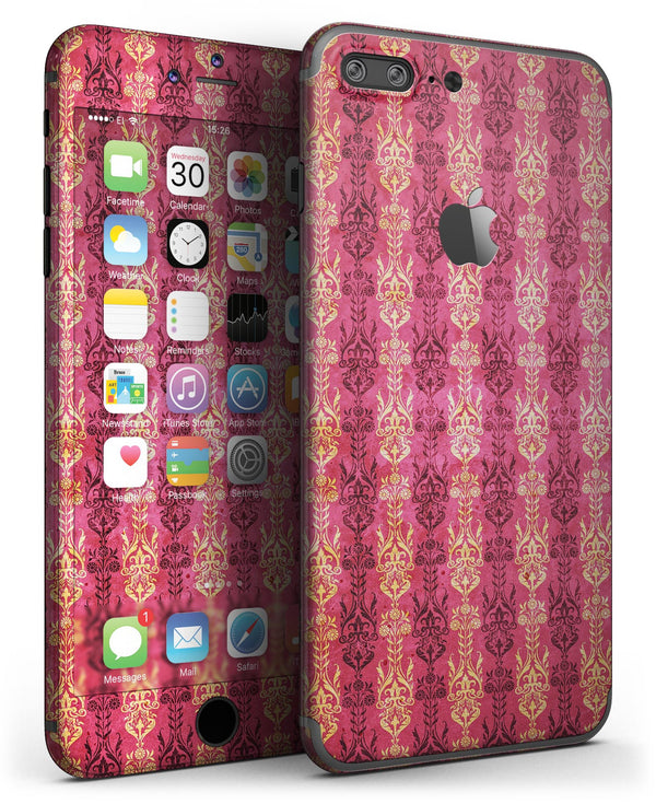 Antique_Pink_and_Yellow_Damask_Pattern_-_iPhone_7_Plus_-_FullBody_4PC_v3.jpg