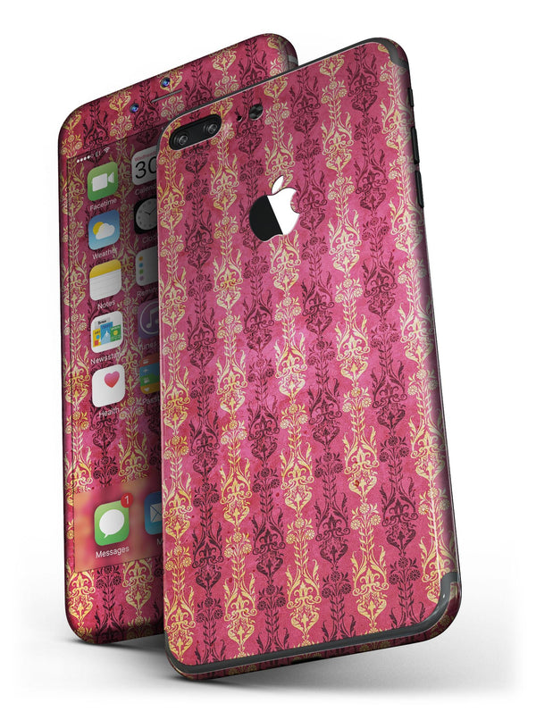 Antique_Pink_and_Yellow_Damask_Pattern_-_iPhone_7_Plus_-_FullBody_4PC_v4.jpg