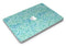 Aqua Damask v2 Watercolor Pattern - MacBook Air Skin Kit