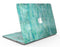 Aqua Watercolor Cross Hatch - MacBook Air Skin Kit