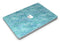 Aqua Watercolor Leopard Pattern - MacBook Air Skin Kit