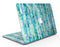 Aqua Watercolor Patchwork - MacBook Air Skin Kit