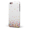 Ascending Multicolor Polka Dots iPhone 6/6s or 6/6s Plus 2-Piece Hybrid INK-Fuzed Case