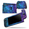 Azure Nebula - Skin Wrap Decal for Nintendo Switch Lite Console & Dock - 3DS XL - 2DS - Pro - DSi - Wii - Joy-Con Gaming Controller