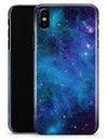Azure Nebula - iPhone X Clipit Case