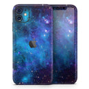 Azure Nebula - Skin-Kit for the Apple iPhone 11, 11 Pro or 11 Pro Max
