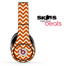 Brown and Tan Chevron Pattern Skin for the Beats by Dre Solo, Studio, Wireless, Pro or Mixr
