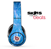 Blue Fireworks Skin for the Beats by Dre Solo, Studio, Wireless, Pro or Mixr