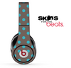 Turquoise and Gray Polka Dotted V3 Skin for the Beats by Dre Solo, Studio, Wireless, Pro or Mixr