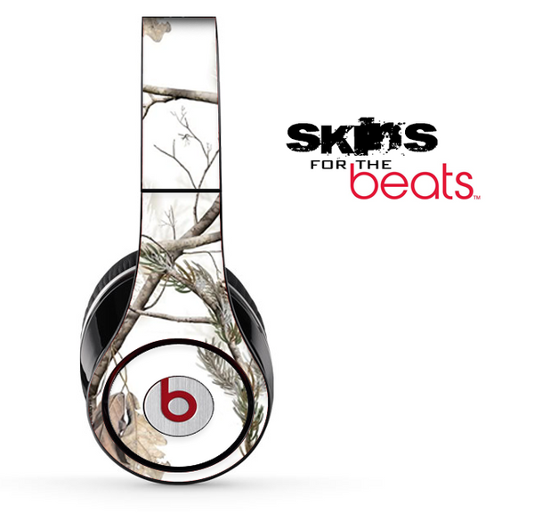 Real Winter Camouflage V1 Skin for the Beats by Dre Solo, Studio, Wireless, Pro or Mixr