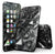 Black 3D Diamond Surface - 4-Piece Skin Kit for the iPhone 7 or 7 Plus