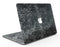 Black Basic Watercolor Chevron Pattern - MacBook Air Skin Kit