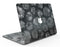 Black Floral Succulents - MacBook Air Skin Kit