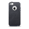 Black Leather Skin for the iPhone 5c OtterBox Commuter Case