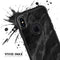 Black Marble Surface - Skin Kit for the iPhone OtterBox Cases