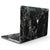 Black Scratched Marble - MacBook Pro with Touch Bar Skin Kit