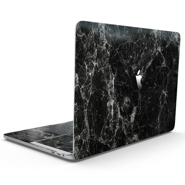 MacBook Pro with Touch Bar Skin Kit - Black_Scratched_Marble-MacBook_13_Touch_V9.jpg?