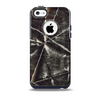 Black Torn Woven Texture Skin for the iPhone 5c OtterBox Commuter Case