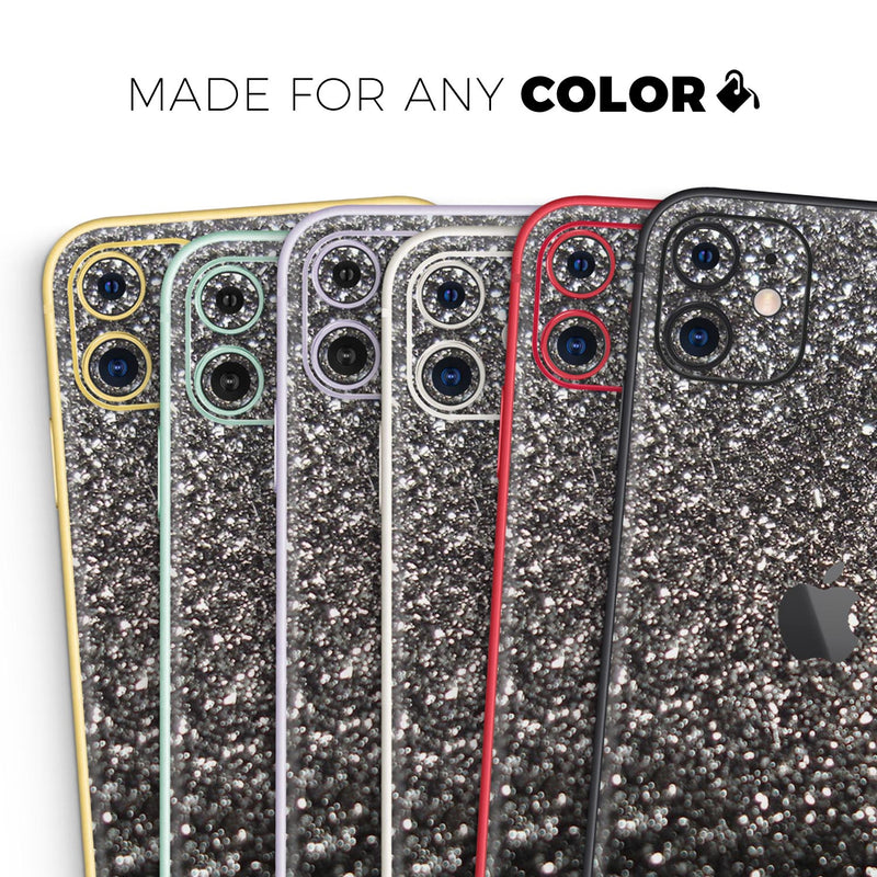 Black Unfocused Sparkle - Skin-Kit for the Apple iPhone 11, 11 Pro or 11 Pro Max