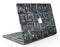 Black Watercolor Patchwork - MacBook Air Skin Kit