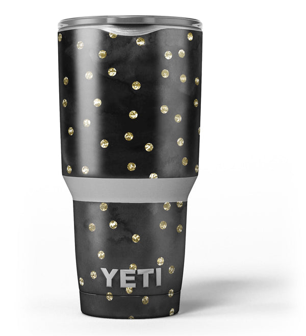 Black_Watercolor_and_Gold_Glimmer_Polka_Dots_-_Yeti_Rambler_Skin_Kit_-_30oz_-_V3.jpg