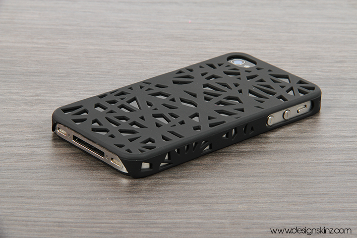 innovative design d8527 0a3e2 The Black Web Case for the iPhone 4/4s or 5