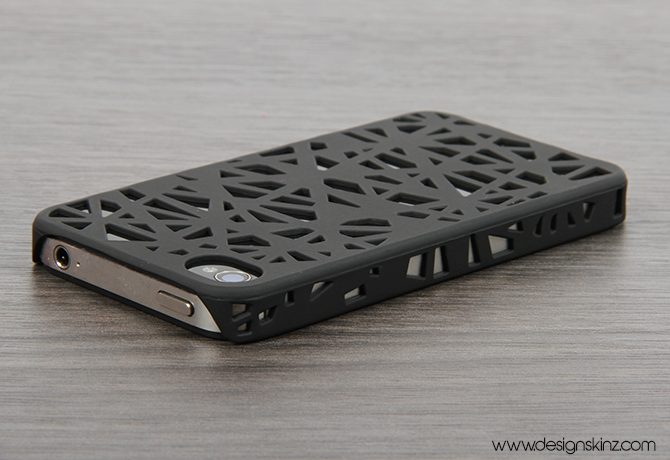 innovative design 8be68 7c5b1 The Black Web Case for the iPhone 4/4s or 5