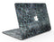 Black and Blue Watercolor Giraffe Pattern - MacBook Air Skin Kit