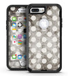 Black and Concrete Surface Polka Dots - iPhone 7 Plus/8 Plus OtterBox Case & Skin Kits