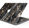"Black and Gold Marble Surface - Skin Decal Wrap Kit Compatible with the Apple MacBook Pro, Pro with Touch Bar or Air (11"", 12"", 13"", 15"" & 16"" - All Versions Available)"