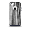 Black and Grey Frizzy Texture Skin for the iPhone 5c OtterBox Commuter Case
